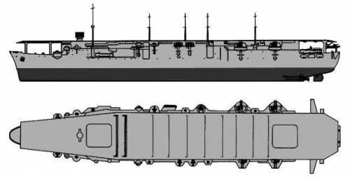 IJN Kaiyo (Escort Aircraft Carrier)