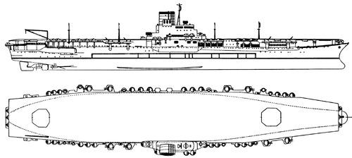 IJN Shinano 1945