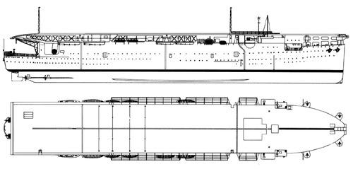 HMS Argus 1918 {Aircraft Carrier)