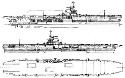 HMS Ark Royal 1939 {Aircraft Carrier)