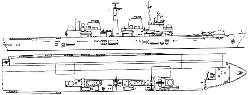 HMS Ark Royal R07 (Light Carrier)