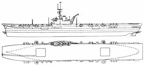 HMS Colossus (NF Arromanches)