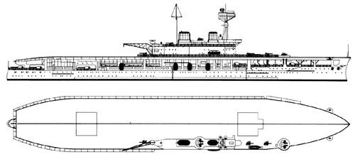 HMS Eagle 1920 {Aircraft Carrier)
