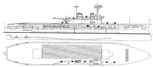 HMS Eagle 1924 (Aircraft Carrier)