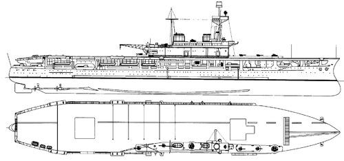 HMS Eagle 1942 (Aircraft Carrier)