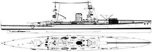 HMS Furious 1917 {Aircraft Carrier)