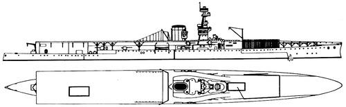 HMS Furious 1918 (Aircraft Carrier)