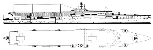 HMS Furious 1939 {Aircraft Carrier)