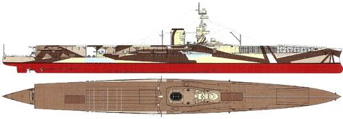 HMS Furious 1944 (Aircraft Carrier)