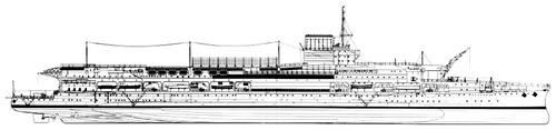 HMS Glorious 1937 {Aircraft Carrier)