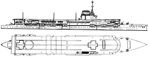 HMS Glorious 1939 (Aircraft Carrier)