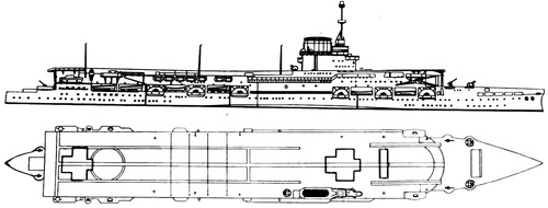 HMS Glorious 1939 (Aircraft Carrier)
