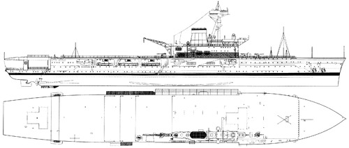HMS Hermes R12 (Aircraft Carrier)