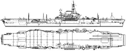HMS Implacable 1944 {Aircraft Carrier)