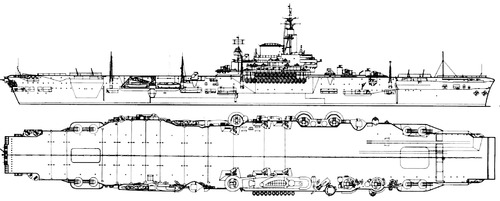 HMS Implacable R86 1944 [Aircraft Carrier]
