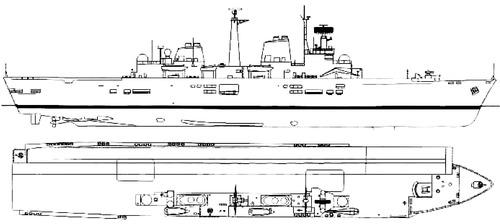 HMS Invincible R05 1982 (Light Carrier)