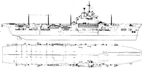 HMS Unicorn [Escort Carrier]