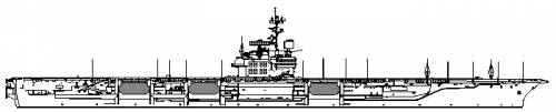 USS CV-59 Forrestal