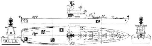 USSR Project 1123 Moskva [Kondor Helicopter Carrier]