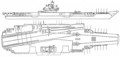 USSR Ulyanovsk Class Carrier
