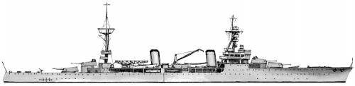 MNF Duquesne (Cruiser) (1939)