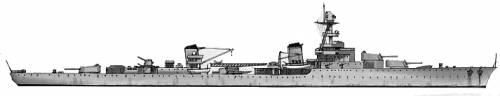MNF Emile Bertin (Cruiser) (1942)