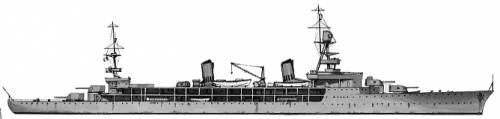 MNF Jeanne dArc (Cruiser) (1939)