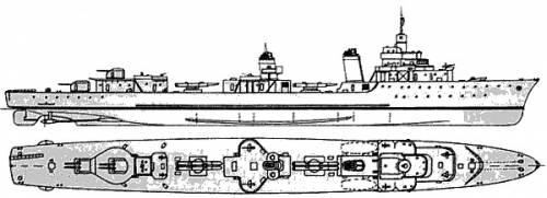 MNF Le Fier (Torpedo Boat) (1940)