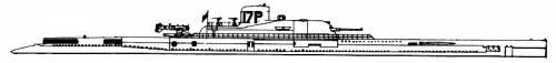 MNF Surcouf (Cruiser Submarine) (1941)