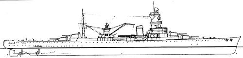 NMF Algerie 1934 (Heavy Cruiser)