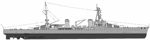 NMF Duquesne (Heavy Cruiser) (1939)