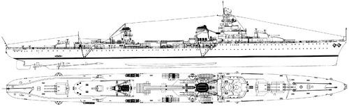 NMF Emile Bertin 1942 [Light Cruiser]