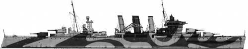 HMAS Australia (Heavy Cruiser) (1942)