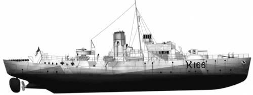 HMCS Snowberry K166 (Corvette) (1943)