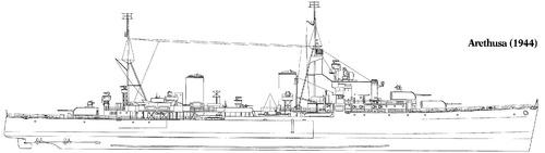 HMS Arethusa 1944 [Light Cruiser]