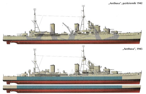 HMS Arethusa [Light Cruiser]
