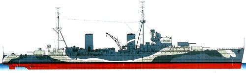 HMS Aurora 1942 [Light Cruiser]