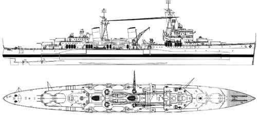 HMS Belfast 1942 [Heavy Cruiser]