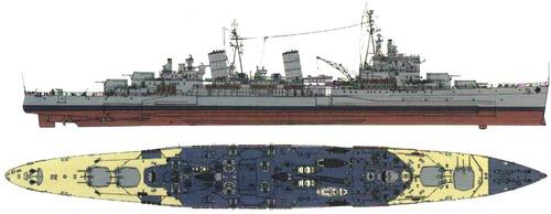 HMS Belfast 1945 [Heavy Cruiser]