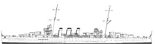HMS Berwick 1928 (Heavy Cruiser)