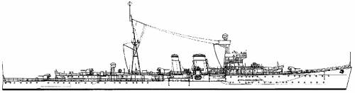 HMS Calcutta (Light cruiser) (1939)