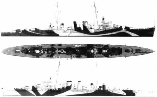 HMS Delhi (1942)