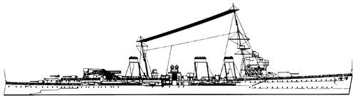 HMS Enterprise D53 1936 [Light Cruiser]