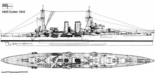 HMS Exeter (1942)