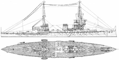 HMS Inflexible (Battlecruiser) (1914)