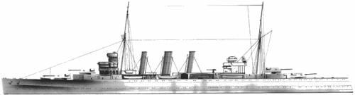 HMS Kent (1926)
