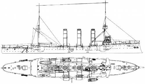 HMS Kent (Armored Cruiser) (1915)