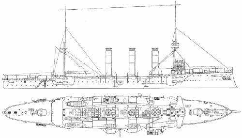 HMS Kent (Armoured Cruiser (1903)