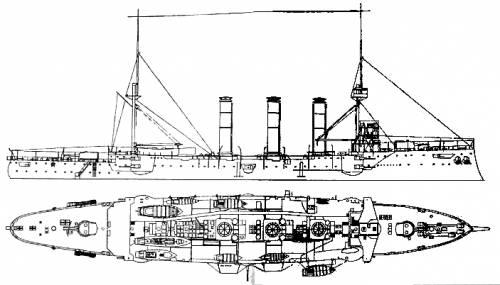 HMS Kent (Armoured Cruiser) (1911)