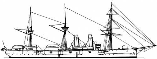 HMS Leander (1882)